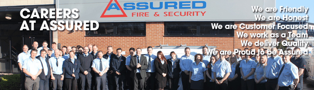 Careers and jobs at Assured Fire and Security slider