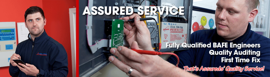 Assured service slider